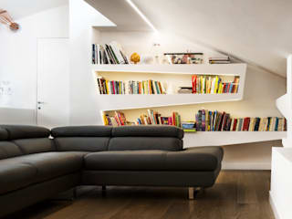Salas de estar modernas por CORFONE + PARTNERS studios for urban architecture Moderno
