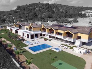 Vista geral: Ginásios modernos por DSA, Architects International