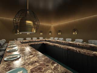 Progetto di corner Food, Rinascente Roma Negozi & Locali commerciali moderni di Silvana Barbato Moderno