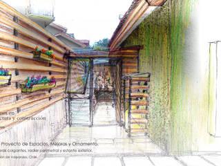 Casa Los Tilos. Proyecto de espacios, mejoras y ornamento.:  de estilo  por Ados