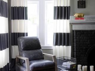 Living Room Industrial style living room by Kellie Burke Interiors Industrial