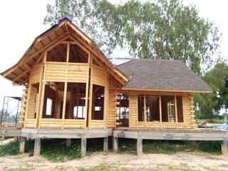 Classic style houses by Sukjai Logcabin Partnership Classic