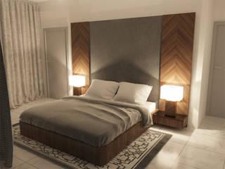 SB Arquitectos Dormitorios modernos de Estudio Chipotle Moderno