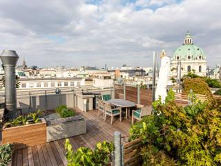 Dachterrassen Wien 4:  Terrasse von cy architecture