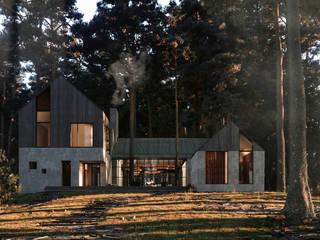 Дом в Звенигороде: Дома в . Автор – Архитектурная студия Чадо