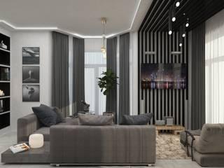 Modern living room by DONJON Modern