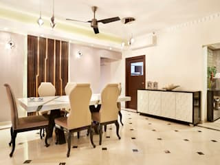 Esszimmer von Total Interiors Solutions Pvt. ltd.