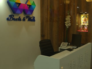 Study/office by Total Interiors Solutions Pvt. ltd. , Modern