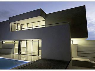 Vivienda S Casas de estilo moderno de Pablo Olmedo Arquitecto Moderno