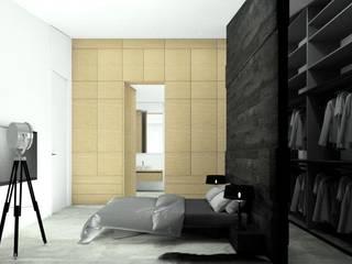 Minimalist bedroom by Esteti Design Minimalist