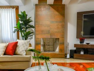 Sala de Estar : Salas de estar  por Juliana Teixeira Arquitetura,Moderno