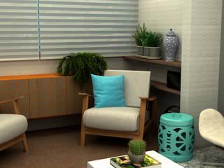 Salon moderne par COB Arquitetura e Design Moderne