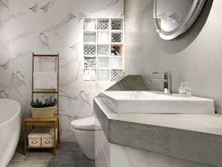 Minimalist style bathrooms by 磨設計 Minimalist