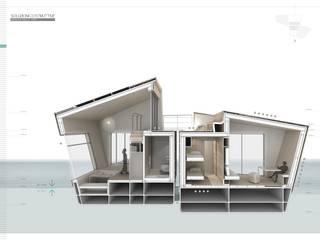 por NIS Architects Moderno