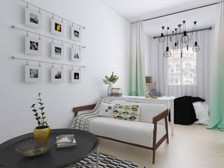 Scandinavian @ Kalibata:   by INTERIORES - Interior Consultant & Build