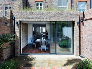 Gardnor Road, Hampstead NW3 Casas de estilo moderno de Brosh Architects Moderno