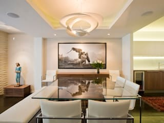 Tenleytown Rowhouse Modern Dining Room by FORMA Design Inc. Modern