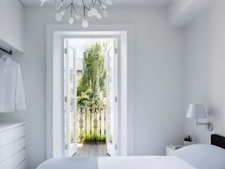 Gardnor Road, Hampstead NW3 Modern style bedroom by Brosh Architects Modern