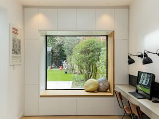 Parke Rd Barnes:  Study/office by VCDesign Architectural Services