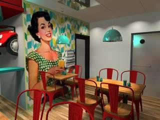 by Diseño de Locales Eclectic