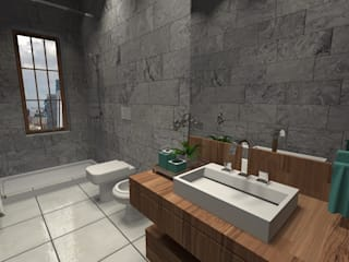 Classic style bathroom by Diseño de Locales Classic