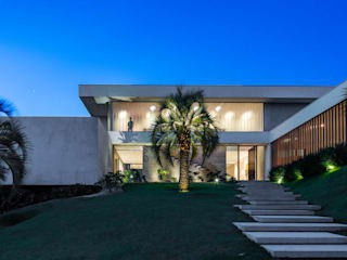 Residência Guaicá Casas minimalistas por Padovani Arquitetos + Associados Minimalista