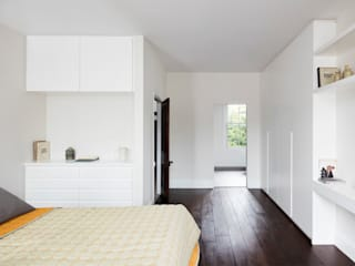 Burrard Road, West Hampstead, London NW6 Dormitorios de estilo moderno de Brosh Architects Moderno