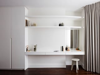 Burrard Road, West Hampstead, London NW6 Cuartos de estilo moderno de Brosh Architects Moderno