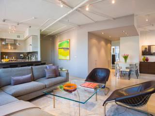 Penthouse on Church Street Modern Living Room by FORMA Design Inc. Modern