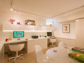 House in Potomac 2.0 Modern Study Room and Home Office by FORMA Design Inc. Modern