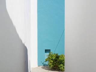 Casa Hernandez Pasillos, vestíbulos y escaleras minimalistas de MAAS Arquitectura & Diseño Minimalista