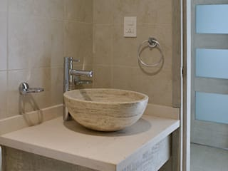 Baño pricipal: Baños de estilo  por MAAS Arquitectura & Diseño