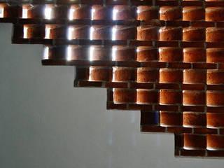 Casa Ezequiel: Pasillos y recibidores de estilo  por MAAS Arquitectura & Diseño
