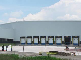 Industrial Complex 1: Espacios comerciales de estilo  por MAAS Arquitectura & Diseño