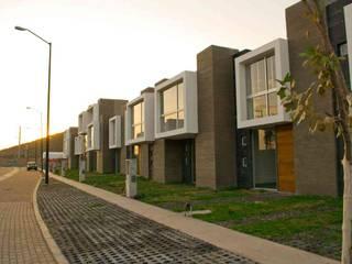 Fraccionamiento Fachadas: Edificios de Oficinas de estilo  por MAAS Arquitectura & Diseño