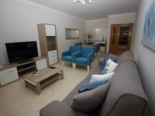 H&P Mobiliário e Decoração Living roomCupboards & sideboards Engineered Wood White