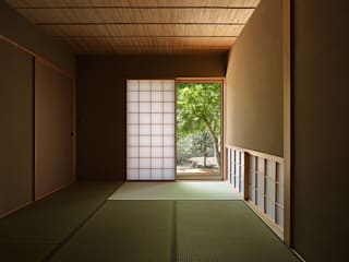福重の家: 柳瀬真澄建築設計工房 Masumi Yanase Architect Officeが手掛けた和室です。,