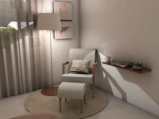 Bedroom by Ana Florêncio, Modern