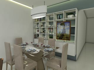Dining room by Ana Florêncio, Modern