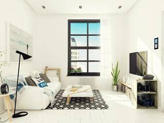 Studio Apartment, Noida: modern  by AR T Architect,Modern