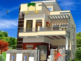Residences at Hapur:   by AR T Architect