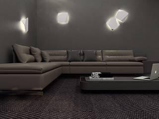 Gran Torino: Гостиная в . Автор – Polka architecture studio