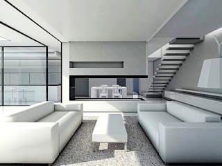 Vivienda T Casas de estilo moderno de Pablo Olmedo Arquitecto Moderno