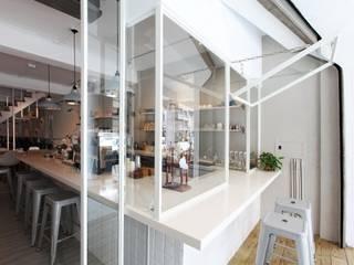 Minimalistische Ladenflächen von 築一國際室內裝修有限公司 Minimalistisch