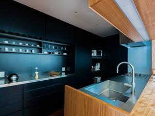 都立大学H邸キッチンリノベーション オリジナルデザインの キッチン の Smart Running一級建築士事務所 オリジナル