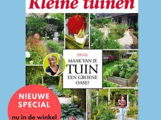 Tuinontwerp & Realisatie : modern  door Lucie Nijsen Tuinvormgeving, Modern