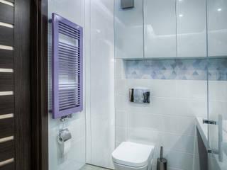 Mieszkanie na poddaszu Nowoczesna łazienka od Jachtoma design Nowoczesny