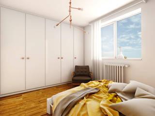 Projekt sypialni od Jachtoma design