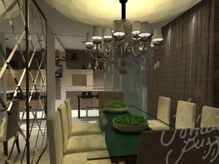 Modern dining room by Patrícia Buzzi Modern