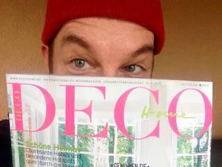 Presseveröffentlichung Deco Home Magazin :  Wohnzimmer von MyZoo Ingo Stein & Raumgestaltung Anhalt